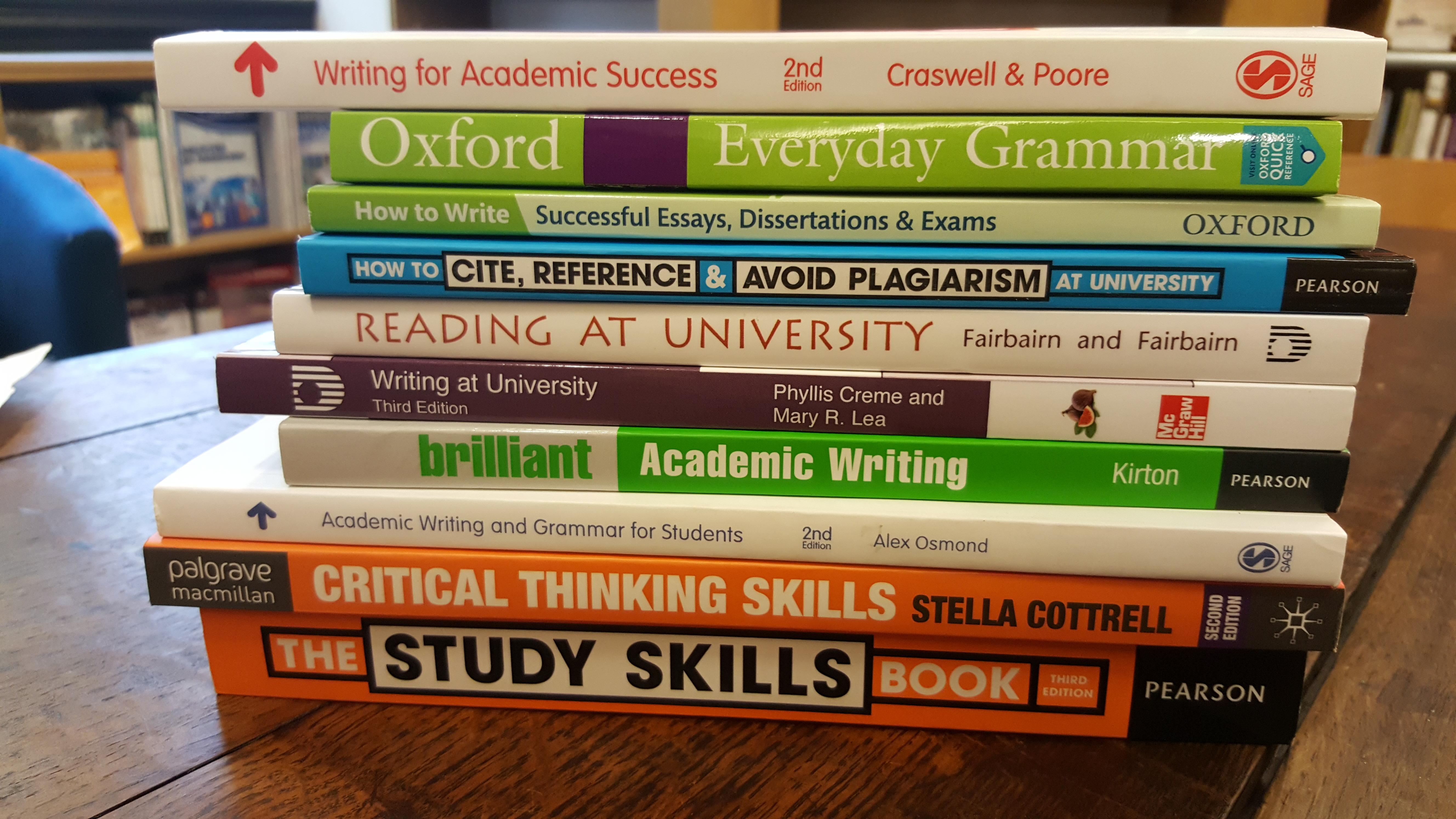 study skills books for foundation year students digitalscholarship